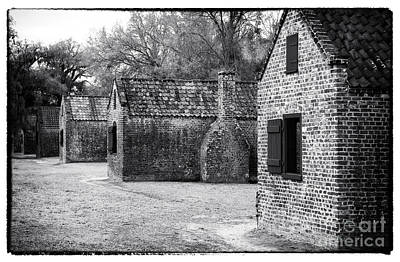 Old School House Photograph - Plantation Quarters by John Rizzuto