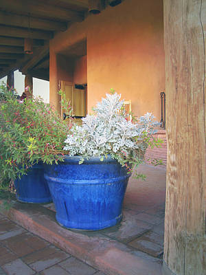 Photograph - Planters Southwest Style by Ann Powell
