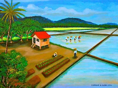 Painting - Planting Season by Lorna Maza