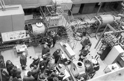Plasmatron Photograph - Plasmatron For Space Research by Science Photo Library