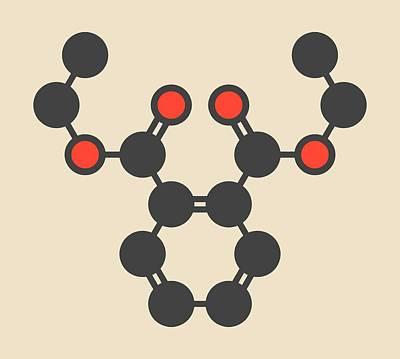 Dep Photograph - Plasticizer Molecule by Molekuul