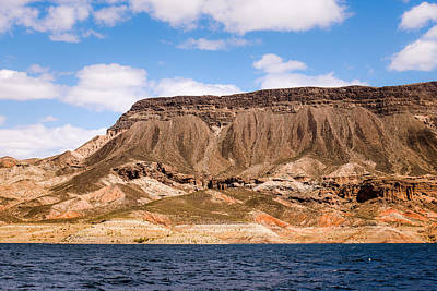 Photograph - Plateau Above Lake Mead by  Onyonet  Photo Studios