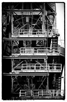 Photograph - Platforms by John Rizzuto