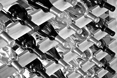 Photograph - Platinum Wine by Frozen in Time Fine Art Photography