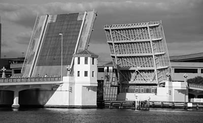 Florida Bridge Photograph - Platt Street Bridge Opening by David Lee Thompson