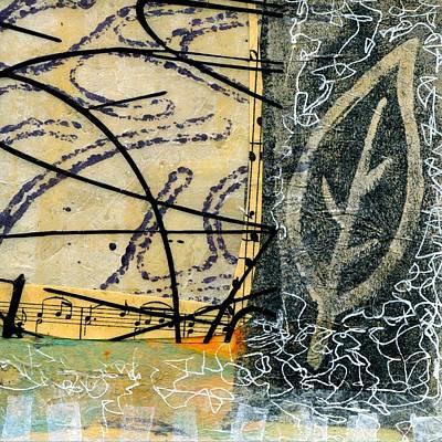 British Abstract Art Painting - Play Along by Shuya Cheng