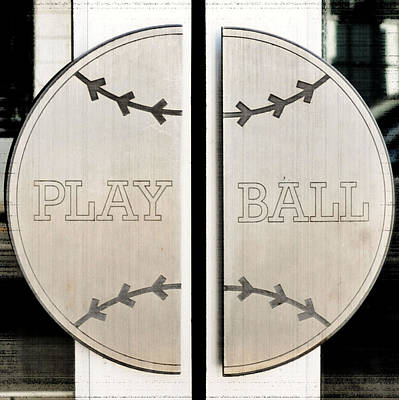 Photograph - Play Ball by Holly Blunkall