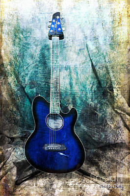 Photograph - Play Me Some Blues by Randi Grace Nilsberg
