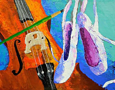 Play Paint Pointe Art Print
