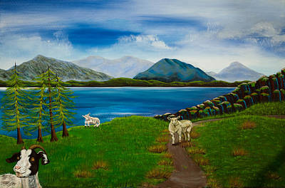 Painting - Play The Goat by Susan Culver