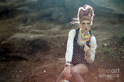 Candy Candy Doll Photograph - Hairbow Pop by Kevin Schlanser
