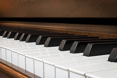 Piano Photograph - Play With Me? by Mark McKinney