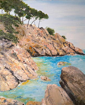 Painting - Playa De Aro by Marilyn Zalatan