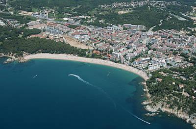 Playa De Fanals, Lloret De Mar Art Print