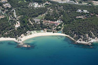 Playa De Santa Cristina, Lloret De Mar Art Print