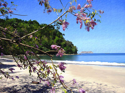 Photograph - Playa Espadillia Sur Manuel Antonio National Park Costa Rica by Kurt Van Wagner