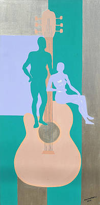 Painting - Played by Erika Chamberlin