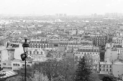 Player Above Paris Art Print