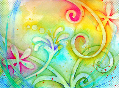 Painting - Playful Fancy by Carla Parris