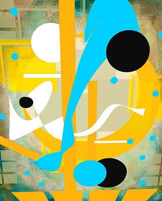 Collier Digital Art - Playful by Francine Collier