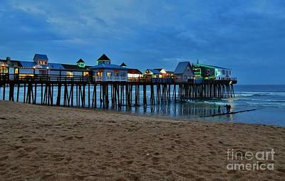 Photograph - Playful Pier by Karin Pinkham