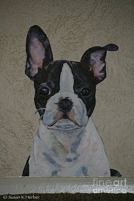 Painting - Playful Pup by Susan Herber