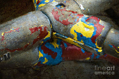 Photograph - Playground Abstract by Tom Brickhouse