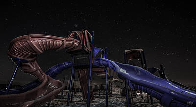 Playground Photograph - Playground In The Stars by Everet Regal