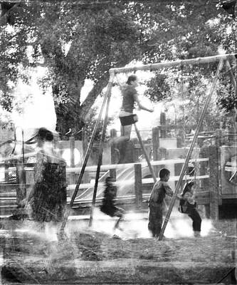 Photograph - Playground by Theresa Tahara