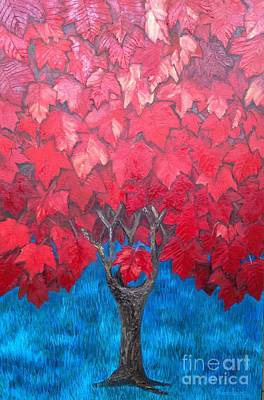 Painting - Playground Tree by Leandria Goodman