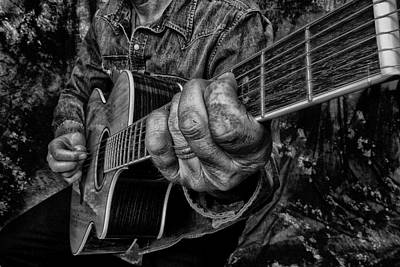 Photograph - Playin The Blues by Kevin Cable