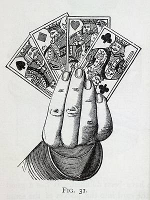 Playing Cards Print by British Library