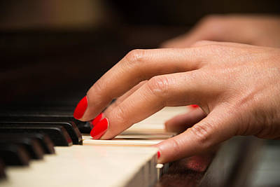 Playing The Piano Print by Dutourdumonde Photography
