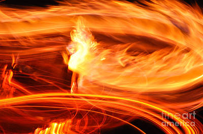 Photograph - Playing With Fire 14 by Cheryl McClure