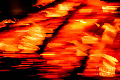 Photograph - Playing With Fire 2 by Cheryl McClure