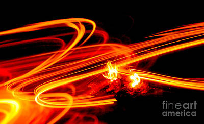 Photograph - Playing With Fire 4 by Cheryl McClure