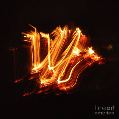 Photograph - Playing With Fire 6 by Cheryl McClure