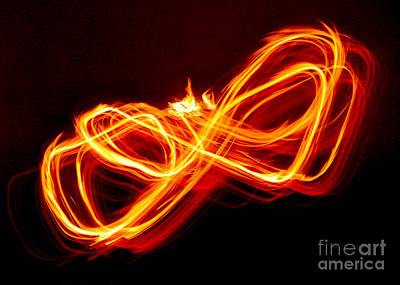 Photograph - Playing With Fire 8 by Cheryl McClure