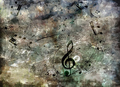 Digital Art - Playing Your Song by Angelina Vick