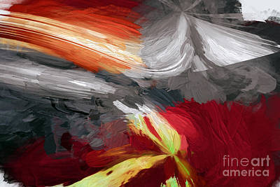 Digital Art - Plays Well With Other Colors by Margie Chapman