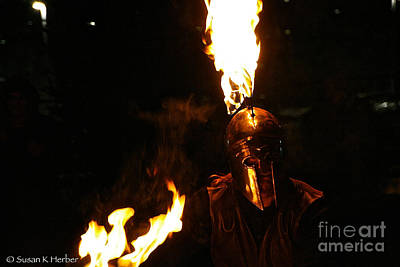 Photograph - Plays With Fire by Susan Herber
