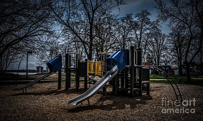Photograph - Playscape by Ronald Grogan