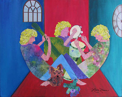 Music Painting - Playtime by Laura Nance