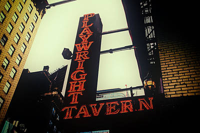 Photograph - Playwright Tavern by Karol Livote