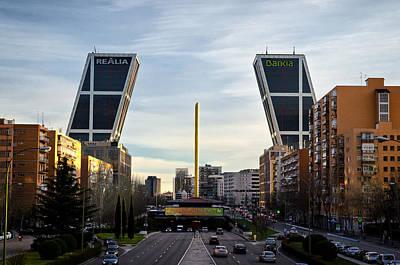 Photograph - Plaza De Castilla by Pablo Lopez