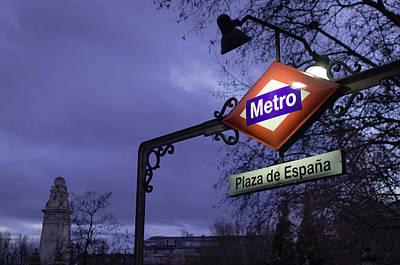 Photograph - Plaza De Espana by Pablo Lopez