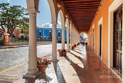 Photograph - Plaza De La Independencia Campeche by Jo Ann Snover