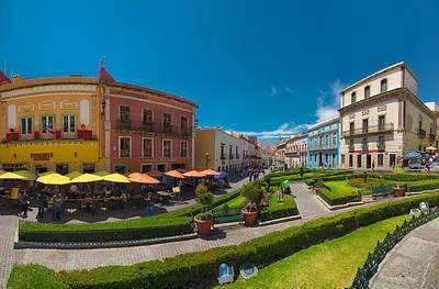 Mexico Photograph - Plaza De La Paz by Alejandro Tejada