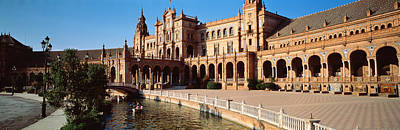 Espana Photograph - Plaza Espana, Seville, Spain by Panoramic Images