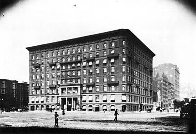 5th Ave Photograph - Plaza Hotel, C1894 by Granger
